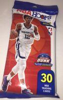 🔥💪🏀🔥💪🏀🔥💪🏀20-21 NBA Hoops Cello Fat Pack 30 Cards Zion?Ja?Luka? Lamelo?