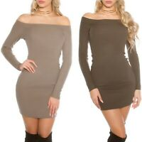Women's Off the Shoulder Sweater Dress - One Size (S/M/L - 4/6/8)