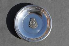 ROYAL NAVY HMS PEMBROKE SHIPS BADGE NAFFI BOUGHT ONBOARD PIN DISH