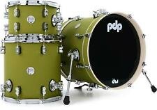 PDP Concept Maple Bop 3-piece Shell Pack - Satin Olive
