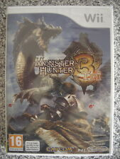 Monster Hunter 3 Tri For PAL Wii (New & Sealed)