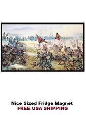 129 - Battle of Gettysburg Confederate Rebel Fridge Refrigerator Magnet