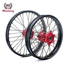 "21""/19"" WHEELS SET for Honda CRF250 CRF450 CRF 250 450 FRONT/REAR"