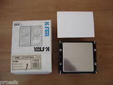 URMET DOMUS 1155/59 K-Steel inox modulo cieco posto esterno tastiera