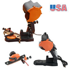 4800RPM Electric Chain Saw Sharpener Grinder Bench Vise Mount Chainsaw US SHIP!