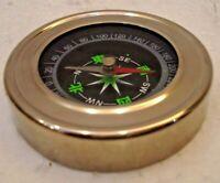 Marine POCKET Compass - Small Table Compass - Nautical / Maritime / Boat