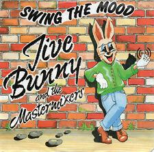 """JIVE BUNNY & THE MASTERMIXERS - SWING THE MOOD - PS - 80's - 7"""" VINYL"""
