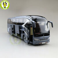 1/42 Gold Dragon XML6129 Diecast Model Car Bus Model Toys Kids Boys Gifts Gray