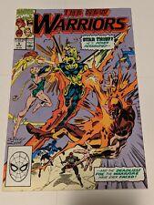 The New Warriors #5 November 1990 Marvel Comics