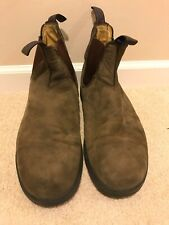 Blundstone Rustic Brown Nuback Leather WINTER Boots Size 11AU 12US MENS