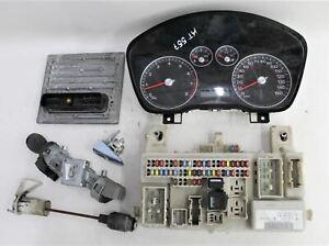 Car Instrument Cluster ECU & Door Lock Assembly Set For 2007 Ford Focus MK2