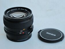 """RARE Konica Hexanon 21mm f:2.8 lens with caps, US SELLER """"MINTY"""" LQQK"""