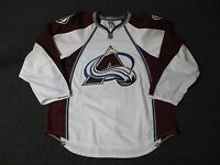New Colorado Avalanche Authentic Team Issued Reebok Edge 2.0 Blank Hockey Jersey
