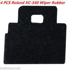 4pcs Roland Wiper Rubber For Roland Xc 540 Fj 540 Fj 740 Sp 300 Sj 540