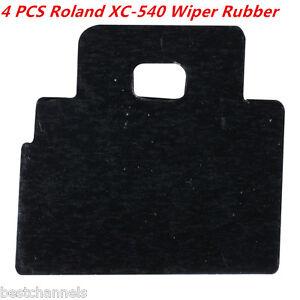 4pcs Roland Wiper Rubber for Roland XC-540 / FJ-540 / FJ-740 / SP-300 / SJ-540