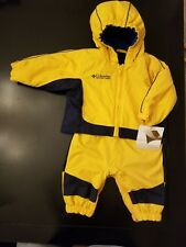 Nwt Columbia Water-Resistant Bib Snowpants and Hooded Jacket Coat Boy 12 months