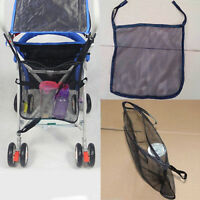 EE_ Black Baby Stroller Carry Bag Pram Pushchair Mesh Hanging Net Storage Dreame