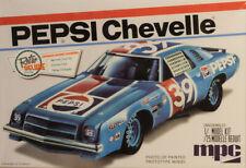 1975 Chevrolet Chevelle Pepsi Stock Car 1:25 Model Kit Bausatz MPC 808 Chevy