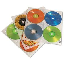 Case Logic Two-Sided CD Storage Sleeves for Ring Binder - CDP200