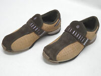 TEVA WOMENS BROWN LEATHER SLIP ON/LOAFER #6927 SIZE 7US/5.5UK/38EU in EUC