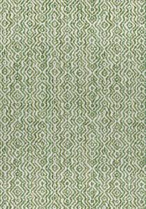 Thibaut Contemporary Epingle Velvet Fabric- Anastasia Emerald Green 2 yds W80694