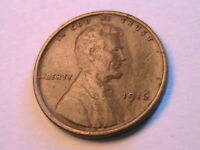1916-P Lincoln Wheat 1C Nice Original Glossy XF+ Lincoln Small Cent US Coin