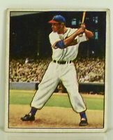 1950 Bowman Gum Larry Doby  # 39 Very Good Original Card Not a Reprint