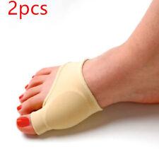 2017 Adult Elastic Gel Line Bunion Protector Sleeve Toe Spreader Corrector Pad