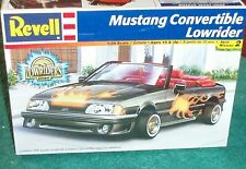 REVELL 1980s or 90s FORD MUSTANG LOWRIDER PLASTIC KIT SEALED 1/25 SKILL LEVEL 2