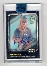 2018 Topps Star Wars Archives Signature - Peter Mayhew as Chewbacca Auto #11/22