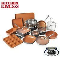Gotham Steel 25 Piece All in One Kitchen, Nonstick Cookware & Bakeware Set, NEW!