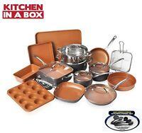 Gotham Steel 25 Piece All in One Kitchen, Nonstick Cookware & Bakeware Set, NEW!