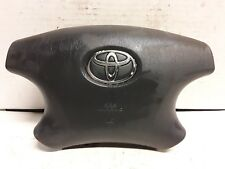 02 03 Toyota Solara 4 spoke black drivers wheel airbag OEM
