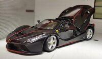 1:24 Scale Black La Ferrari Aperta 70th Anniversary Diecast Model Car Burago