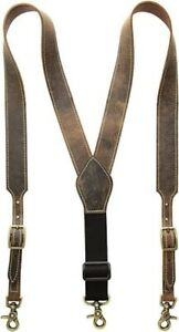 Nocona Men's Basic Suspender, Medium