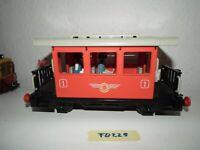 Playmobil Eisenbahn 4100 Personenwagen rot Spur G f. LGB Gartenbahn Piko  FD229