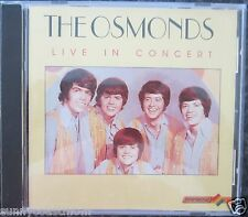 Rare CD - The Osmonds - Live In Concert