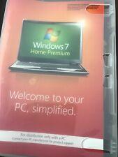 Windows 7 Home Premium Genuine 64 Disc