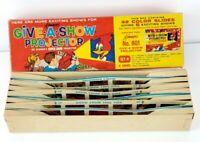 Kenner's Give A Show Projector Set H 1963 Vintage 42 Color Slides #801