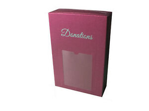 ScatterPod Donation Pod - Secure Single Use Charity Collection Box