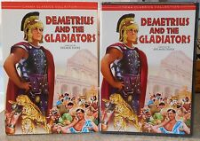 Demetrius and the Gladiators (DVD, 2001) RARE 1954 GLADIATOR NEW W SLIPCOVER