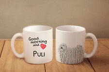 """Puli - ein Becher """"Good Morning and love"""" Subli Dog, AT"""