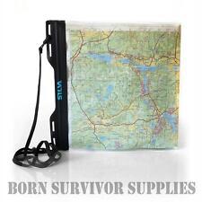 SILVA A4 CARRY DRY WATERPROOF MAP CASE - Medium Document Bag Hiking Walking DofE