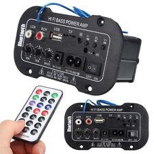 Coche Bluetooth Hi-Fi Amplificador AMP Estéreo Digital Bajo Convertidor Remoto