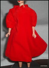 COAT BARBIE  VINTAGE REPRODUCTION SILKEN FLAME VELVETEEN LINED FLARED JACKET