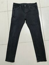 "Awesome  ""G STAR RAW""  3301 Black Slim Jeans Size W 34  L 32"