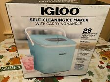 Igloo Iceb26Hnaq Automatic Self-Cleaning Portable Electric Countertop Ice Maker