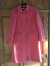 Principles coral coat, UK Size 10.