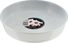 Growth Technology Clear Orchid Saucers for Pots 17cm x 5