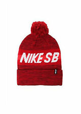 NEW NIKE SB MENS GUYS CUFFED POM BEANIE SLOUCH KNIT HAT SCULL CAP ONE SIZE